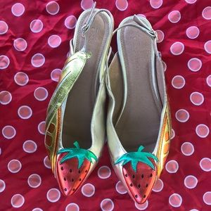 ASOS Shoes - 🍇🍉ASOS Fruit Sling Back Sandals🍌🍊